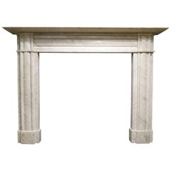 Antique English Regency Period Fireplace Mantel