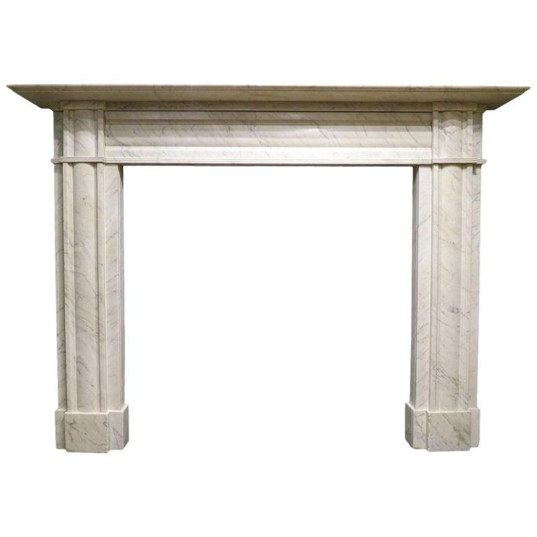 Antique English Regency Period Fireplace Mantel
