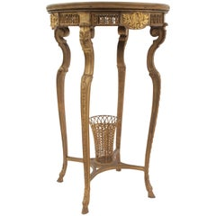 French Régence Style Bronze Dore End Table