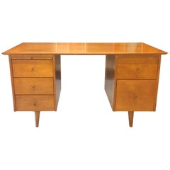 Paul McCobb Double Pedestal Desk from the Planner Group
