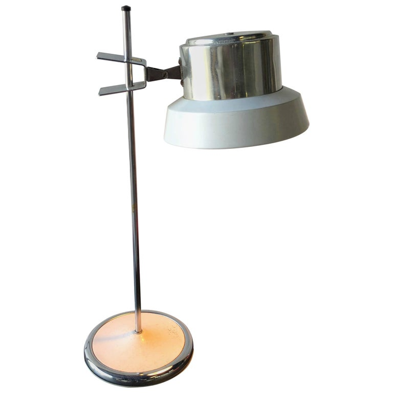 Adjustable Table Desk Lamp by Targetti Sankey Italy, circa 1970