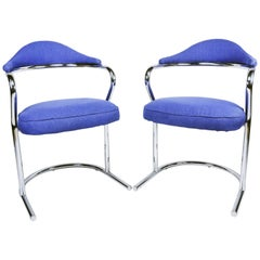 Pair of Armchairs by Anton Lorenz for Thonet