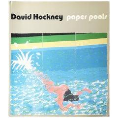 "David Hockney ""Paper Pools"" Book"