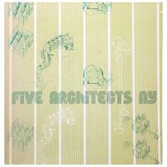 """""""Five Architects NY"""" Book, Italy, 1976"""