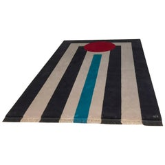 """Power"" Hand-Knotted Wool Rug by Carpets CC"