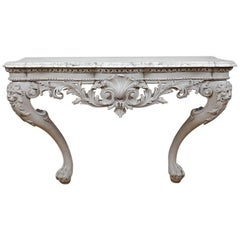 George II Painted Console Table