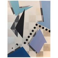 """Unpredictable"" 2016 Acrylic on Canvas by Cecilia Setterdahl"