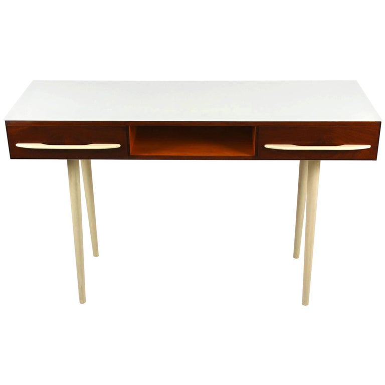 Midcentury Desk or Console Table by M. Požár for Up Bučovice, 1960s