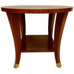Rosewood Baker End or Lamp Table Designed by Barbard Barry