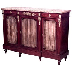 Louis XVI Style Sideboard Cabinet