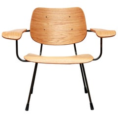 Dutch Minimalist Design Armchair by Tjerk Reijenga Model 8000 for Pilastro
