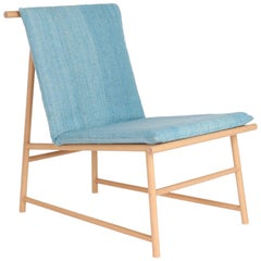 """Your Skin"". Mexican contemporany design. Easy chair. Beechwood"
