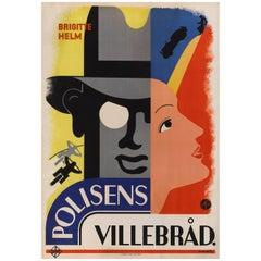 Die Schonen Tage Von Aranjuez / Polisens Villebrad Original Swedish Film Poster