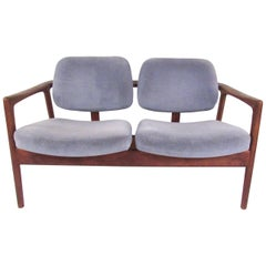 Danish Modern Loveseat by DUX