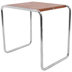 Extremely Rare Bauhaus Chrome Nesting Table, Thonet B9