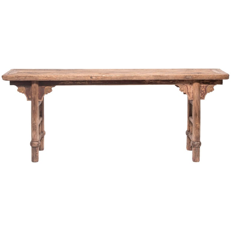 Mid-19th Century Chinese Provincial Altar Table