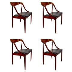 Set of Four Dining Chairs by Johannes Andersen for Richbilt Mfg. Co