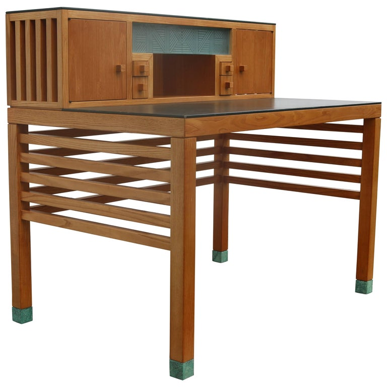 Two-Tiered Desk by Steven Holl for Pace For Sale