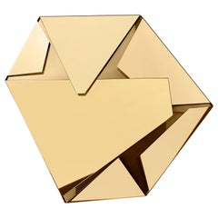 Ghidini 1961 Kaleidos Small Wall Light in Polished Gold Finish