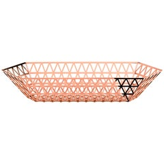 Ghidini 1961 Tip Top Limousine Tray in Rose Gold Finish
