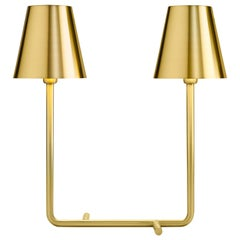 Ghidini 1961 Bio Table Lamp in Satin Brass Finish