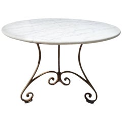 Elegant Round Marble Table