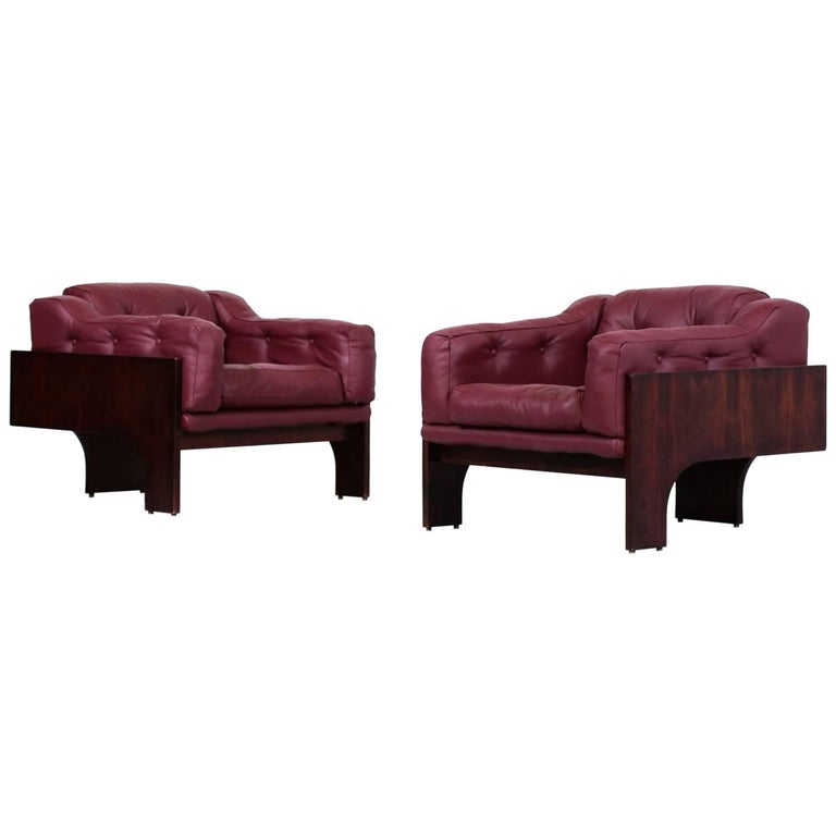 Pair of Claudio Salocchi for Sormani Oriolo armchairs, 1966, offered by Danke Galerie