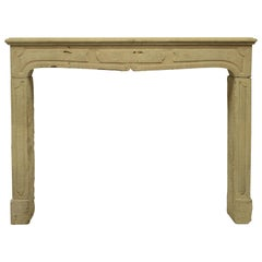 French Louis XIV Fireplace Mantel