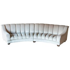 Flair Edition Contemporary Curved Sofa