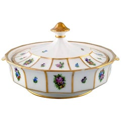 Royal Copenhagen Henriette, Two Lidded Bowls