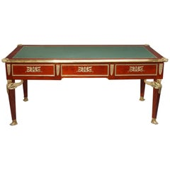 Empire Style Mahogany and Ormolu Antique Writing Desk