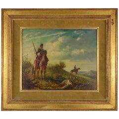 Paternostre Louis Belgian School, Painting, on the Battlefield
