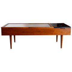 Walnut and Rosewood Coffee Table by Stewart MacDougall for Glenn of California