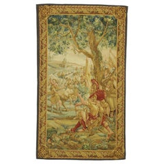 Battle of the Teutoburg Forest Scene Tapestry with Medieval Style, Wall Hanging