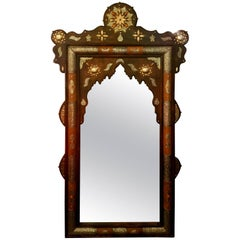 Fandi Tall Camel Bone Mirror Marrakech