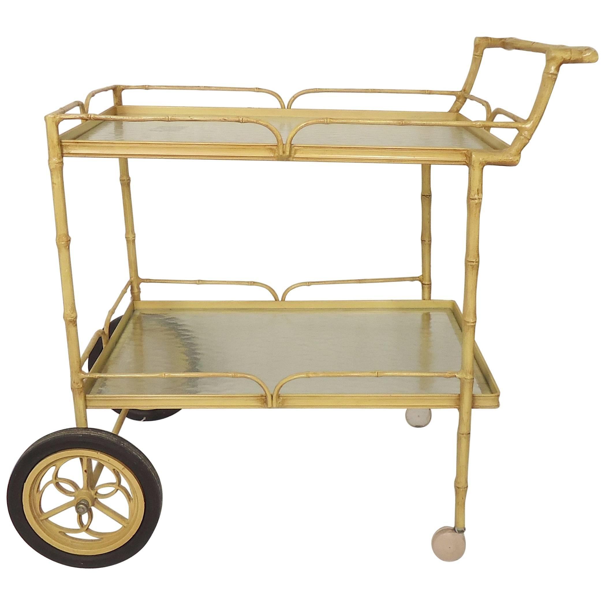 Mid-Century Modern Tea Cart