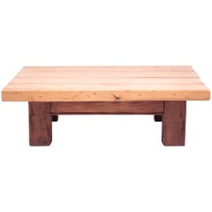 Low Plank Top Table