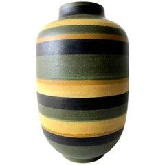 Alvino Bagni Massive Italian Modernist Floor Vase