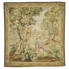 French Style Tapestry Inspired by 'La Cueillette des Cerises', Francois Boucher
