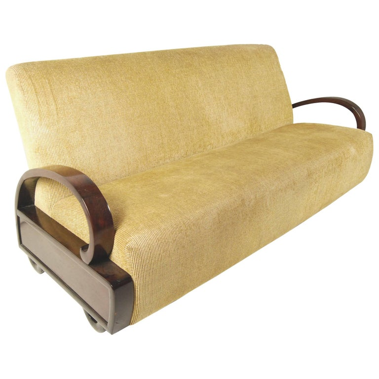 Early 20th Century Chinese Art Deco Sofa