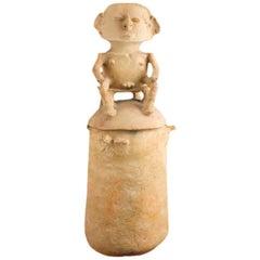 Impressive Pre-Columbian Rio Magdalena Urn, Colombia, circa 800 to 1500 AD