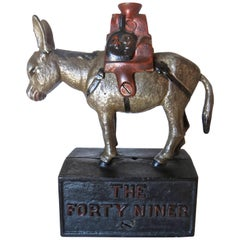 """""""The Forty Niner"""" (49'r) Gaming Device, American, circa 1897"""