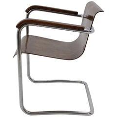 Bauhaus Chrome Chair, H. K. Zaveska