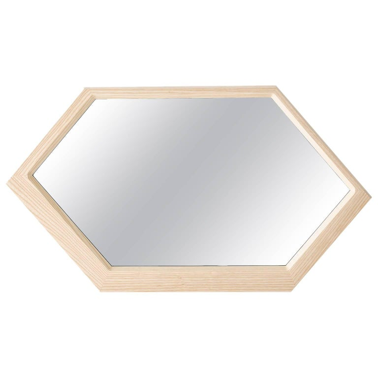 Trance Mirror in Solid Ash