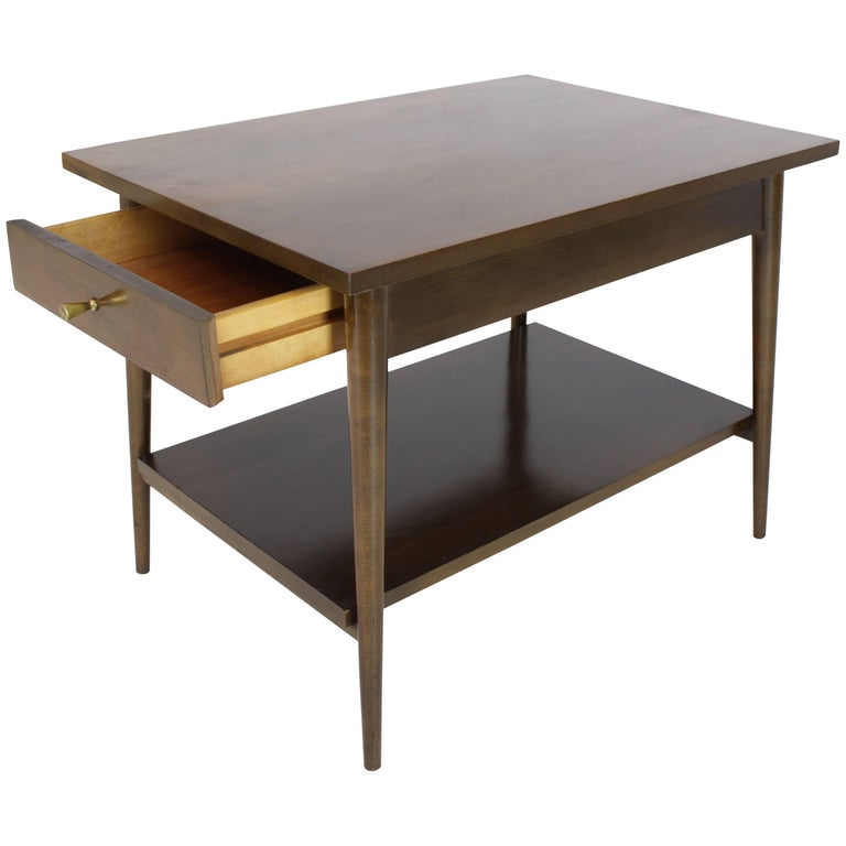 Pual McCobb Planner Group Winchendon Two-Tier Nightstand