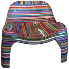"""Mauro Oliveira """"Hard Candy"""" Painted Chair"""