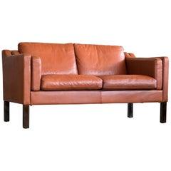 Classic Borge Mogensen Style Sofa Model 2212 Made by Mogens Hansen, Denmark