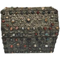 Large Inlaid Moroccan Wedding Jewelry Box