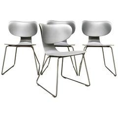 Set of Four Maxima Chairs by William Sawaya for Sawaya & Moroni