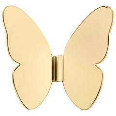 Ghidini 1961 Single Butterfly Hook in Polished Brass